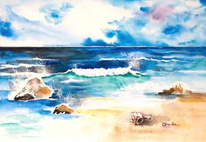Peaceful California Ocean
